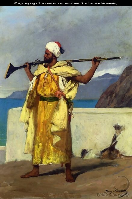 The Watchful Guard - Benjamin Jean Joseph Constant