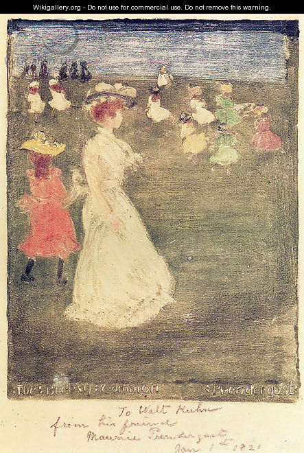 The Breezy Common - Maurice Brazil Prendergast