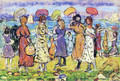 Sunny Day at the Beach - Maurice Brazil Prendergast