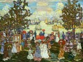 Salem Willows (also known as The Promenade, Salem Harbor) - Maurice Brazil Prendergast