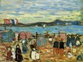 Bathing Tents, St. Malo - Maurice Brazil Prendergast