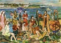 Bathers, New England - Maurice Brazil Prendergast