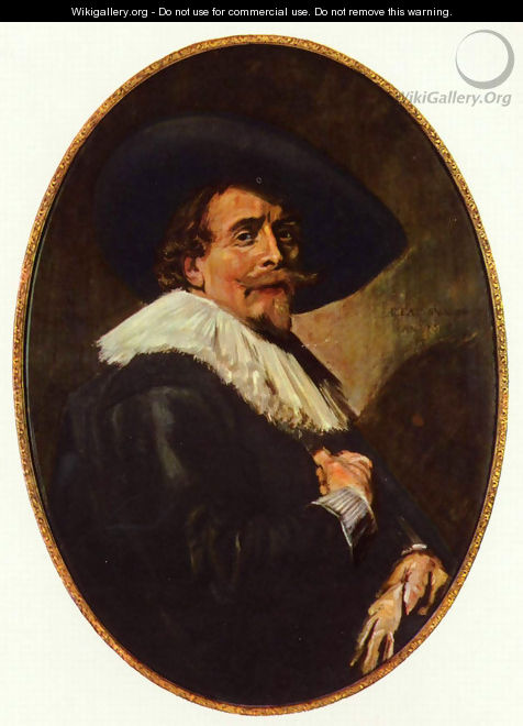 Portrait of a gentlemen - Frans Hals