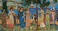 Women at the Seashore - Maurice Brazil Prendergast