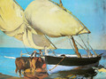 The sails - Joaquin Sorolla y Bastida