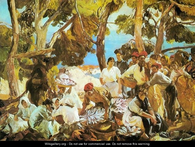 The Fish (Catalonia) - Joaquin Sorolla y Bastida