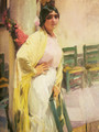 Maria the beautiful - Joaquin Sorolla y Bastida