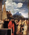 Presentation of the Virgin at the Temple (detail 7) - Tiziano Vecellio (Titian)