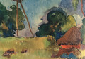 Watercolor 21 - Paul Gauguin