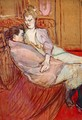 Two Friends 1 - Henri De Toulouse-Lautrec