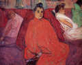 The sofa 2 - Henri De Toulouse-Lautrec