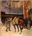 The fence weight - Henri De Toulouse-Lautrec
