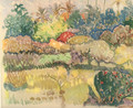 Watercolor 23 - Paul Gauguin
