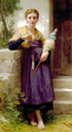 Fileuse [The Spinner] - William-Adolphe Bouguereau
