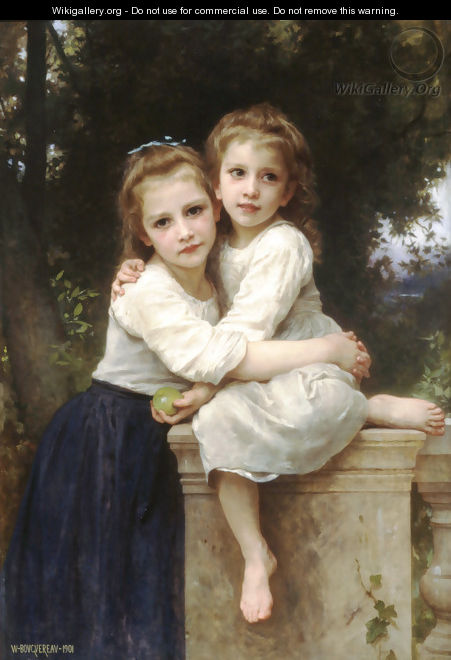 Deux Soeurs [Two Sisters] - William-Adolphe Bouguereau