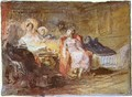 A salon 1 - Joseph Mallord William Turner