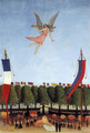 Liberty Inviting Artists at the Society of Independent Artis - Henri Julien Rousseau