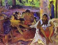 The Fisherwomen Of Tahiti - Paul Gauguin