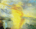 The fire of the parliament - Joseph Mallord William Turner