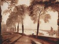 Mortlake Terrace, the home of W. Sliam Moffat, Sommerarbend - Joseph Mallord William Turner