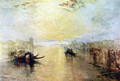 Venice, San Benedetto, view of Fusina - Joseph Mallord William Turner