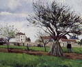 Apple Trees at Pontoise (The Home of Pere Gallien) - Camille Pissarro