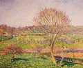 Tree Tree at Eragny - Camille Pissarro