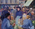 The Market at Gisors 1 - Camille Pissarro