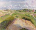 The Dunes at Knocke, Belgium 1 - Camille Pissarro