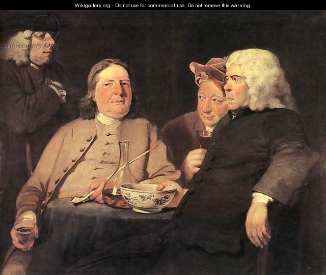 Mr. Oldham and his Friends c. 1750 - Joseph Highmore
