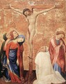 Christ On The Cross With A Carthusian Monk 1389-95 - Jean de Beaumetz