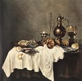 Breakfast of Crab 1648 - Willem Claesz. Heda
