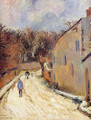 Osny, rue de Pontoise, Winter - Paul Gauguin