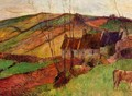 Cottages on Mount Sainte-Marguerite 2 - Paul Gauguin