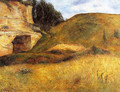 Chou Quarry, Hole in the Cliff - Paul Gauguin
