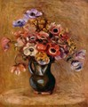 Still life with flowers - Pierre Auguste Renoir