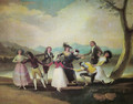 The goose blind - Francisco De Goya y Lucientes