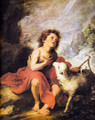 Christ the Good Shepherd 2 - Bartolome Esteban Murillo