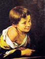 Child supported by a parapet - Bartolome Esteban Murillo