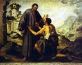 Brother Juniper and the Beggar - Bartolome Esteban Murillo