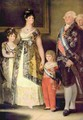 Charles IV and his Family (detail) - Francisco De Goya y Lucientes