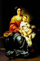 Madonna of the Rosary - Bartolome Esteban Murillo