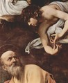 The Inspiration Of Saint Matthew (detail) - Caravaggio