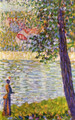 The Seine with Courbevoie - Georges Seurat