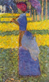 woman with umbrella - Georges Seurat
