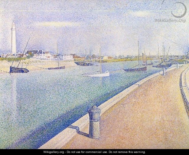 The Channel at Gravelines, Petit-Fort-Philippe - Georges Seurat