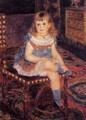 Georgette Charpentier Seated - Pierre Auguste Renoir