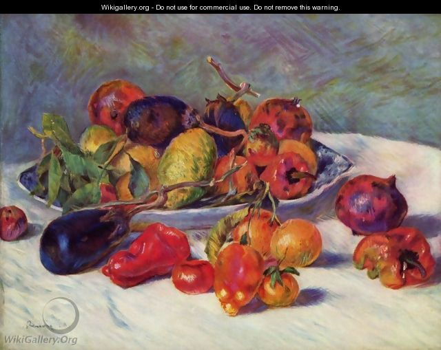 Fruits of the Midi - Pierre Auguste Renoir