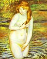 The Bather (After the Bath) - Pierre Auguste Renoir