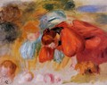 Study for 'The Croquet Game' - Pierre Auguste Renoir